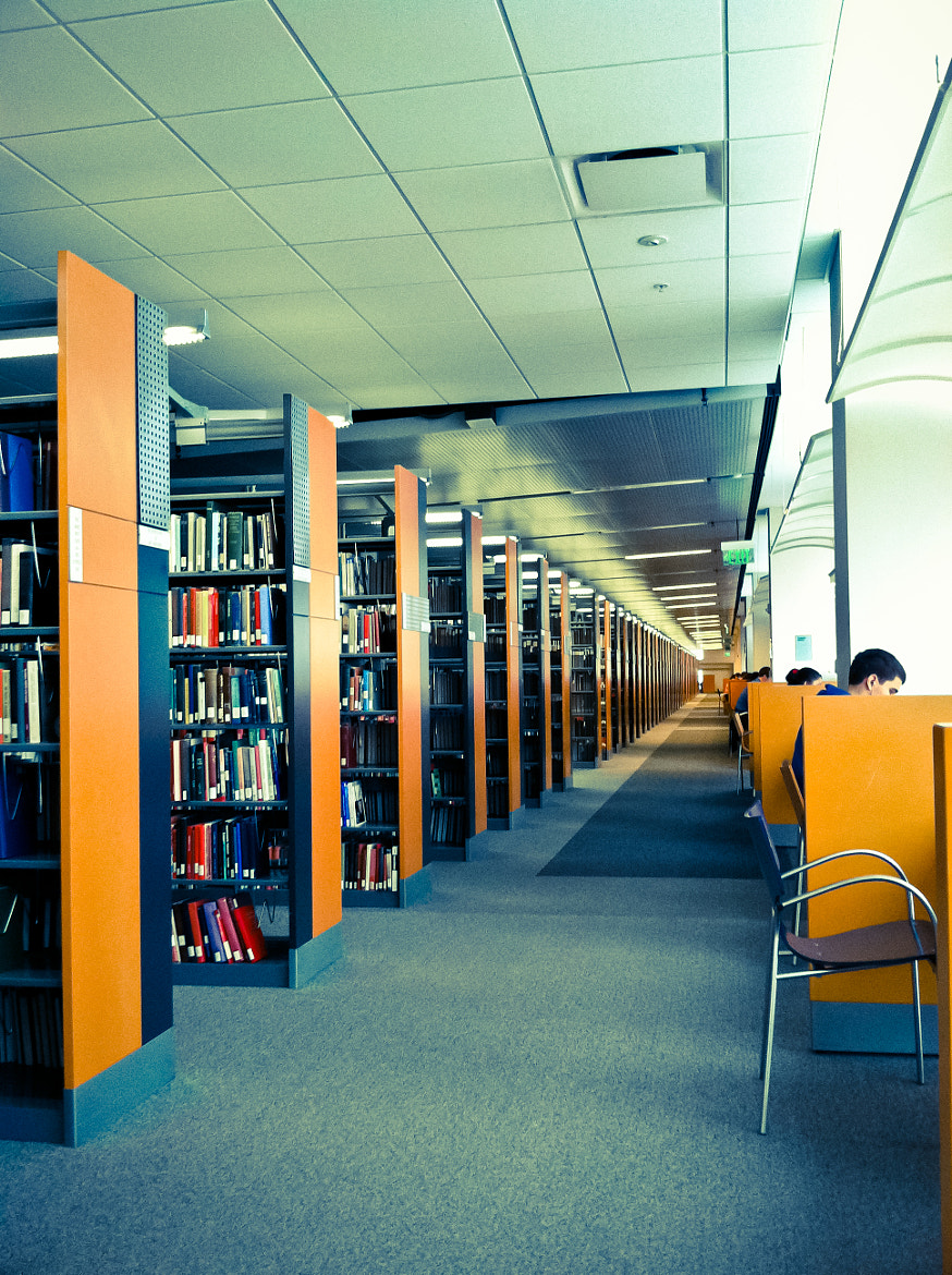 Photograph Mellow Library by Jherell Rabanal on 500px