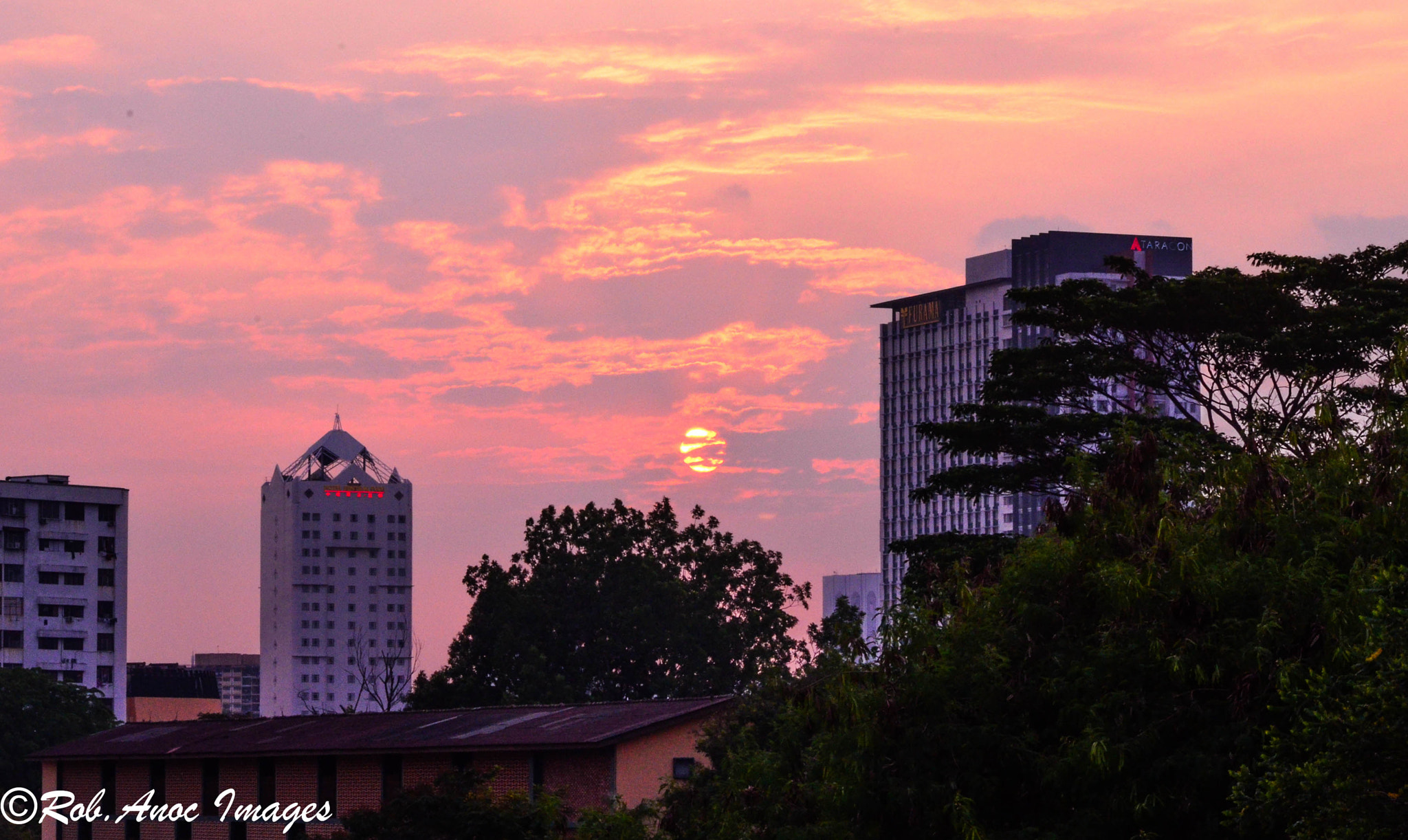 Photograph city sunset by ROBERT JR ANOC on 500px