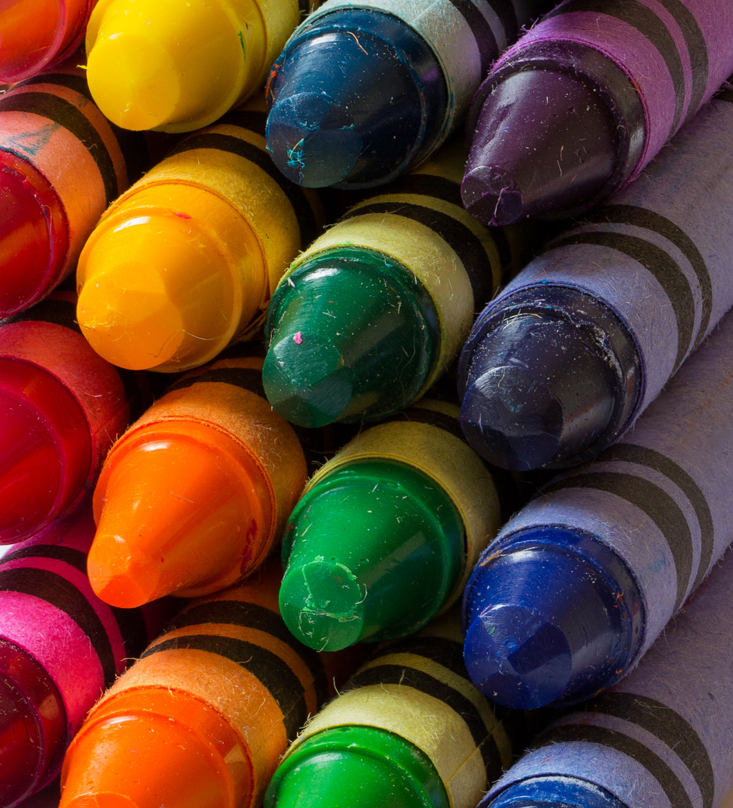 Photograph Crayons by Tim Stolldorf on 500px