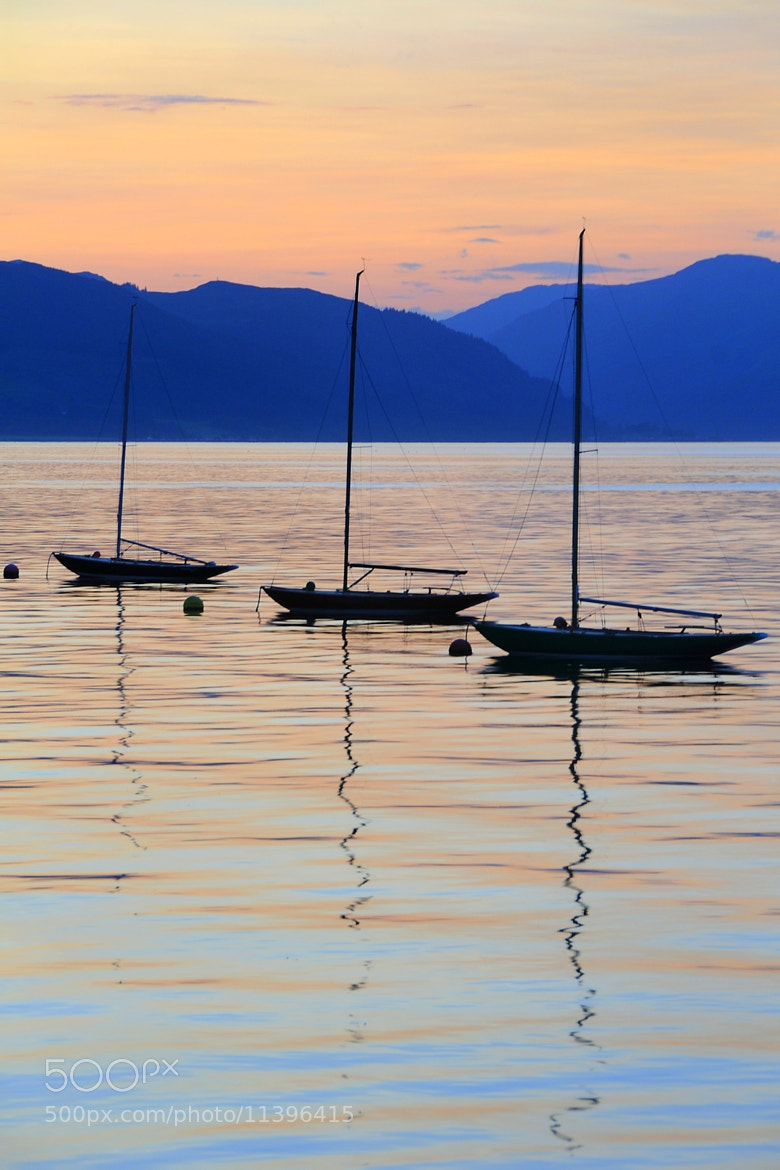 Photograph Three Little Boats by Andrew Walker on 500px