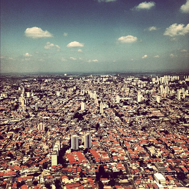 Photograph São Paulo from above by Felipe Bachian on 500px