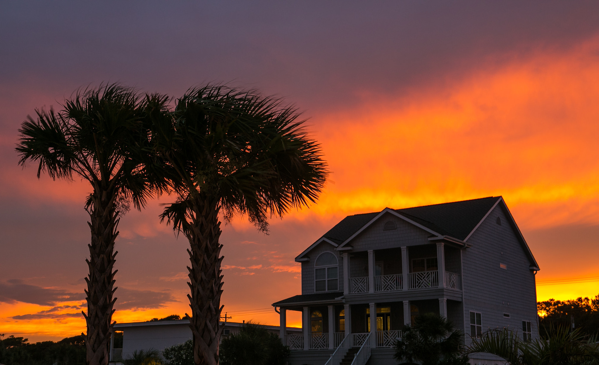 Photograph Fiery Myrtle Beach Sunset by Kurt Miller on 500px