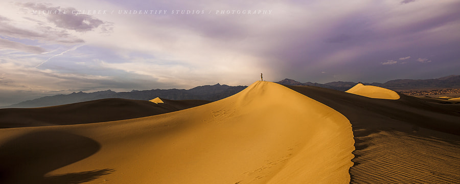Lonely at the dune von Michael Chlebek auf 500px.com