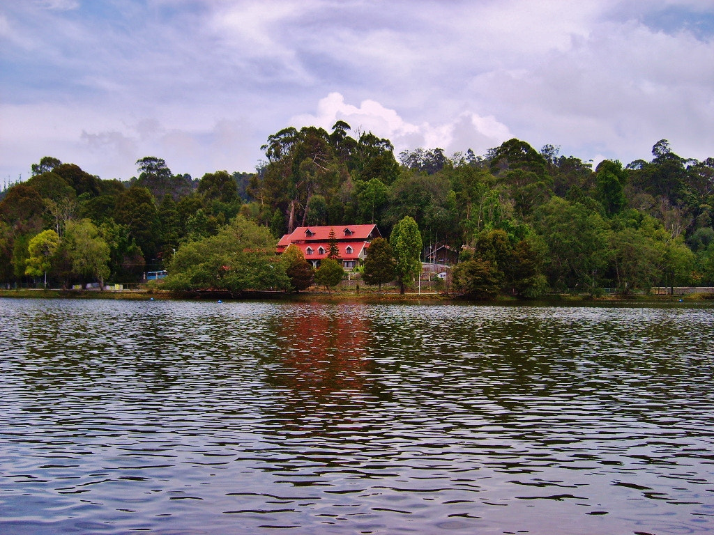 Photograph Beautiful house by the lake. by Ravi S R on 500px