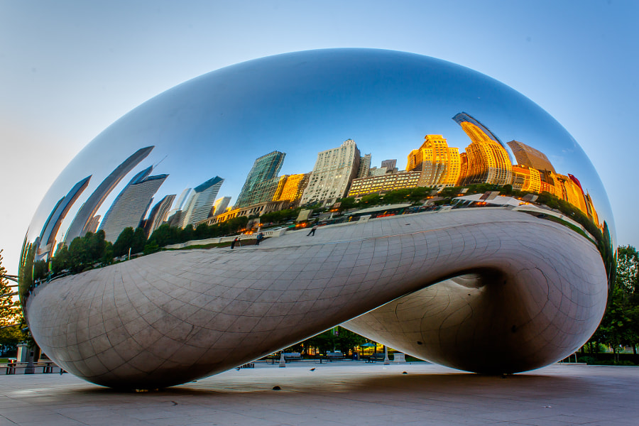 Cloud Gate by Hari on 500px.com