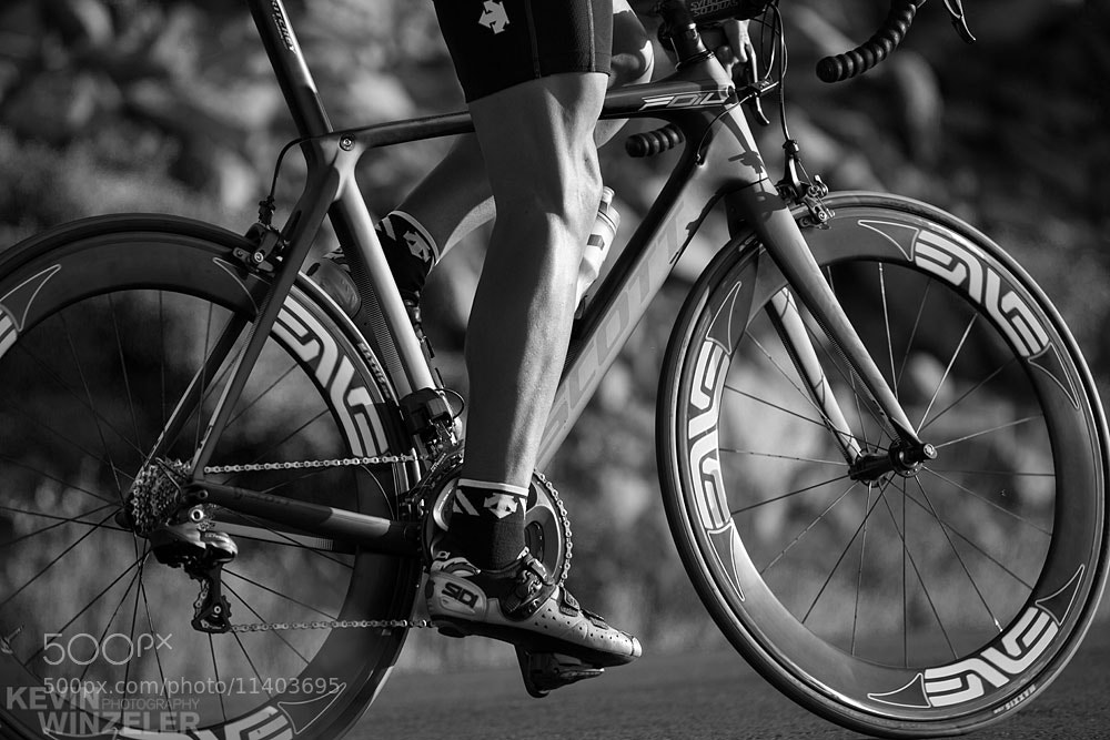 Photograph Fast Friday - Cycling in B&W by KevinWinzeler.com  ~ sports, lifestyle on 500px