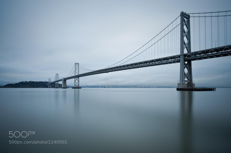 Photograph San Francisco-Oakland Bay Bridge by Rich Williams on 500px