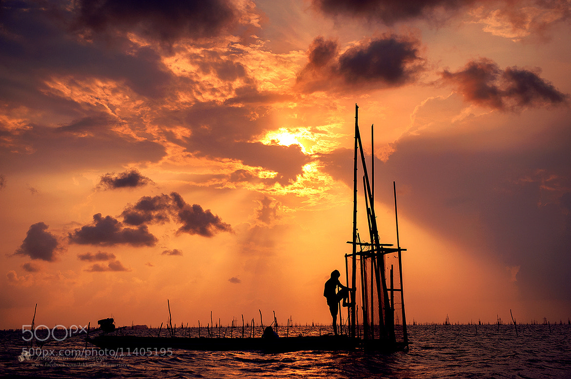 Photograph Fisherman @ Songkhla,Southern Thailand by Jakkaphan Hirunviriya on 500px