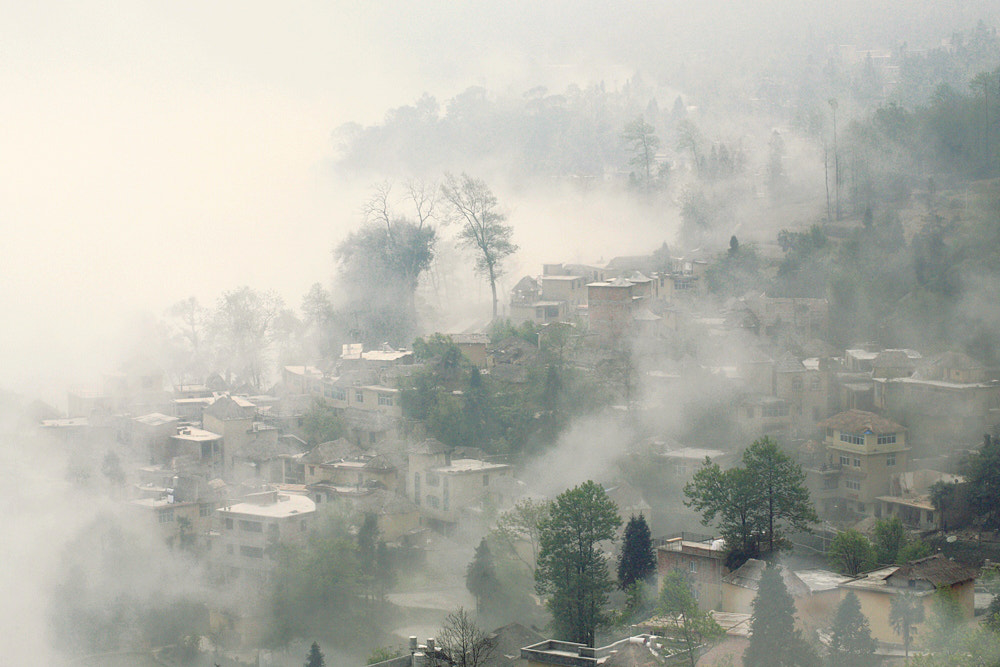 Photograph Village in fog by Viet Hung on 500px