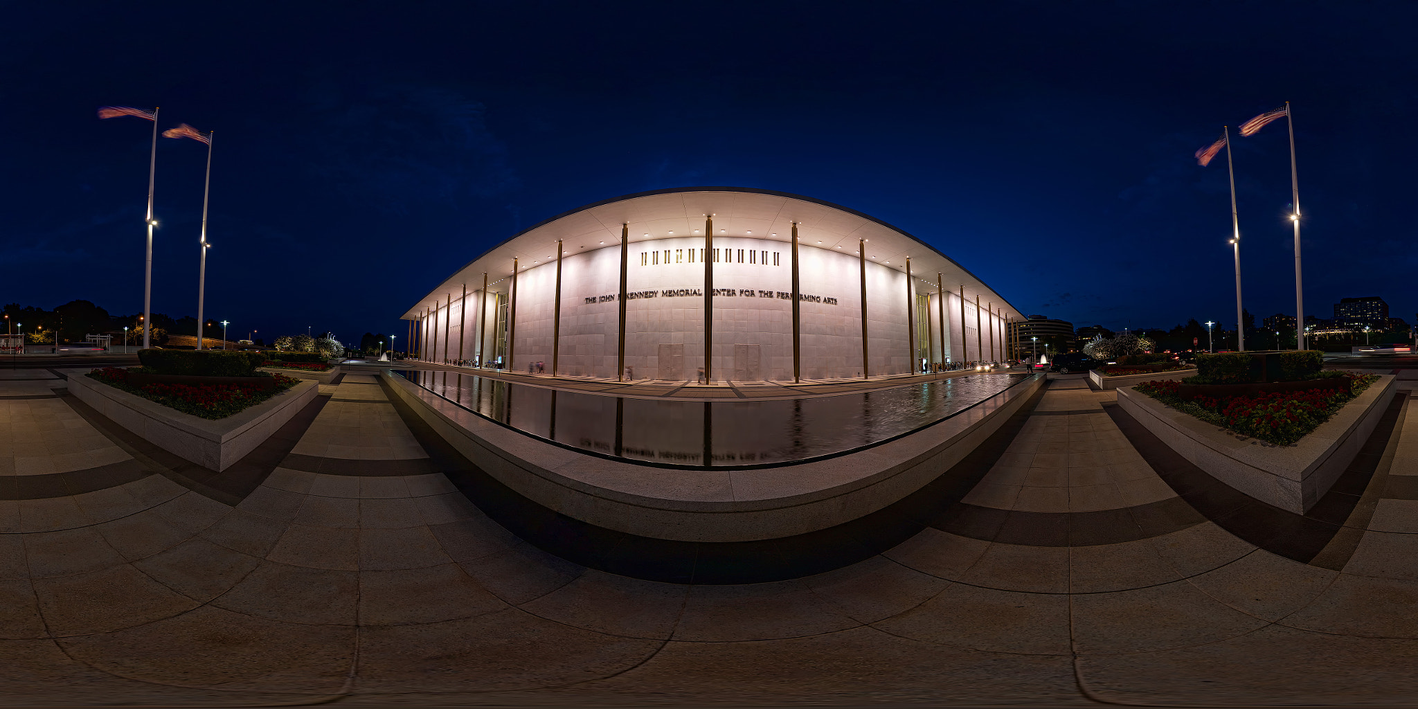 Photograph Kennedy Center Pano by Logan Brown on 500px