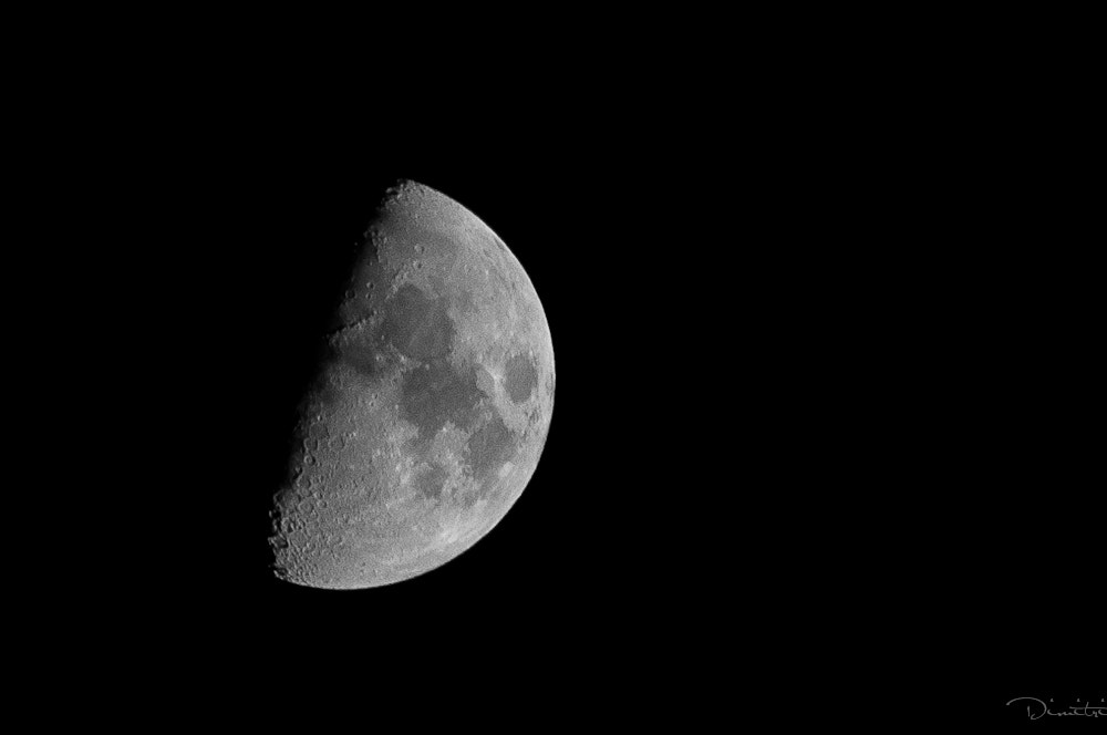 Photograph The Moon by Dimitri Hepburn on 500px