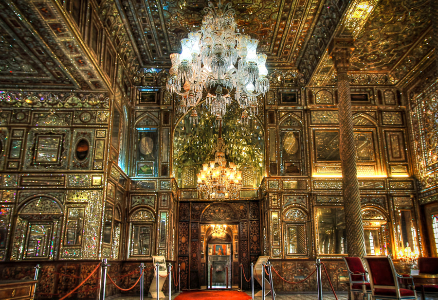 """Reflections in Golestan Palace"""" by Ali KoRdZaDeh on 500px.com"""