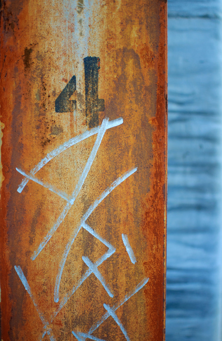 Photograph Rusted tag by Jane McLoughlin on 500px
