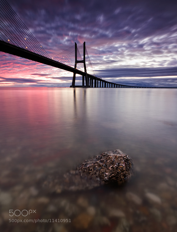 Photograph The rock under the bridge by Hugo Marques on 500px