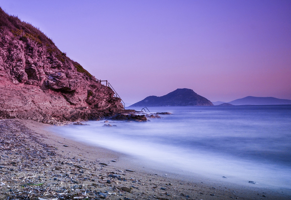 Photograph Purple Bodrum Waves -6- by Dx VxN on 500px