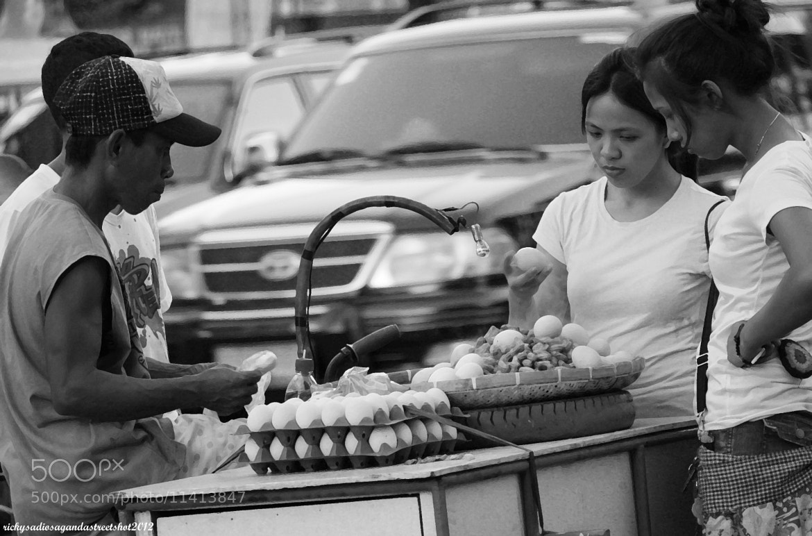 Photograph Hardboiled Eggs Vendor by Ricky Sadiosa Rueda on 500px