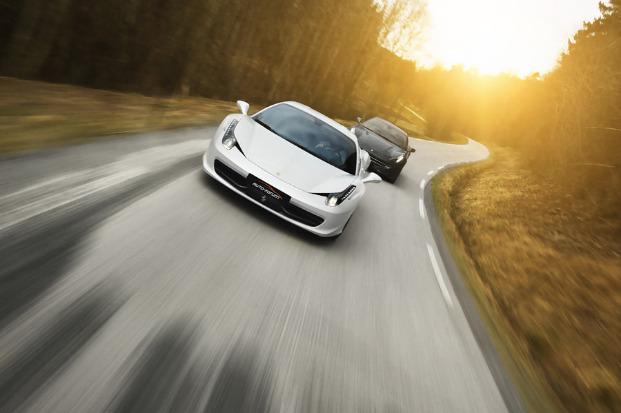 Photograph Ferrari 458 Italia vs. Ferrari FF by Thomas Larsen on 500px