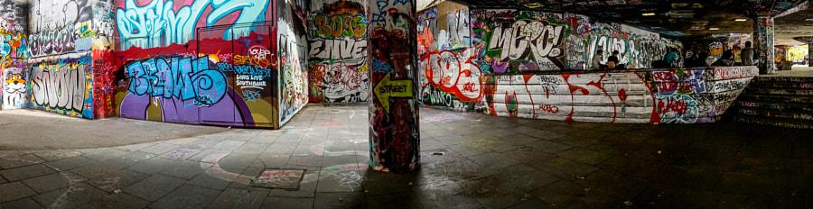Southbank Graffiti Panoramic