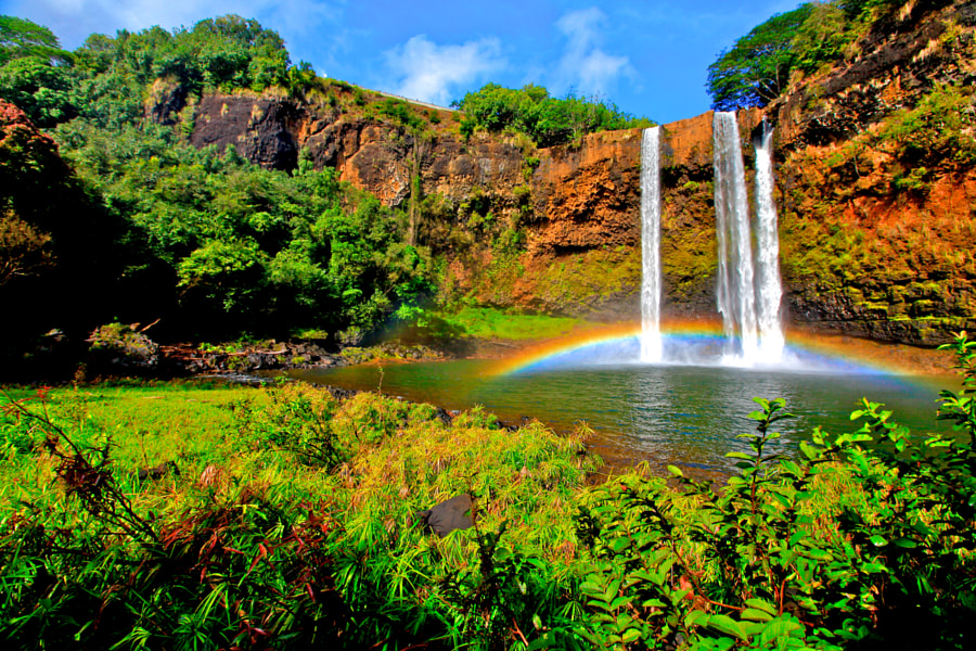Photograph Wailua Falls, Kauai HI by Keala Baek on 500px