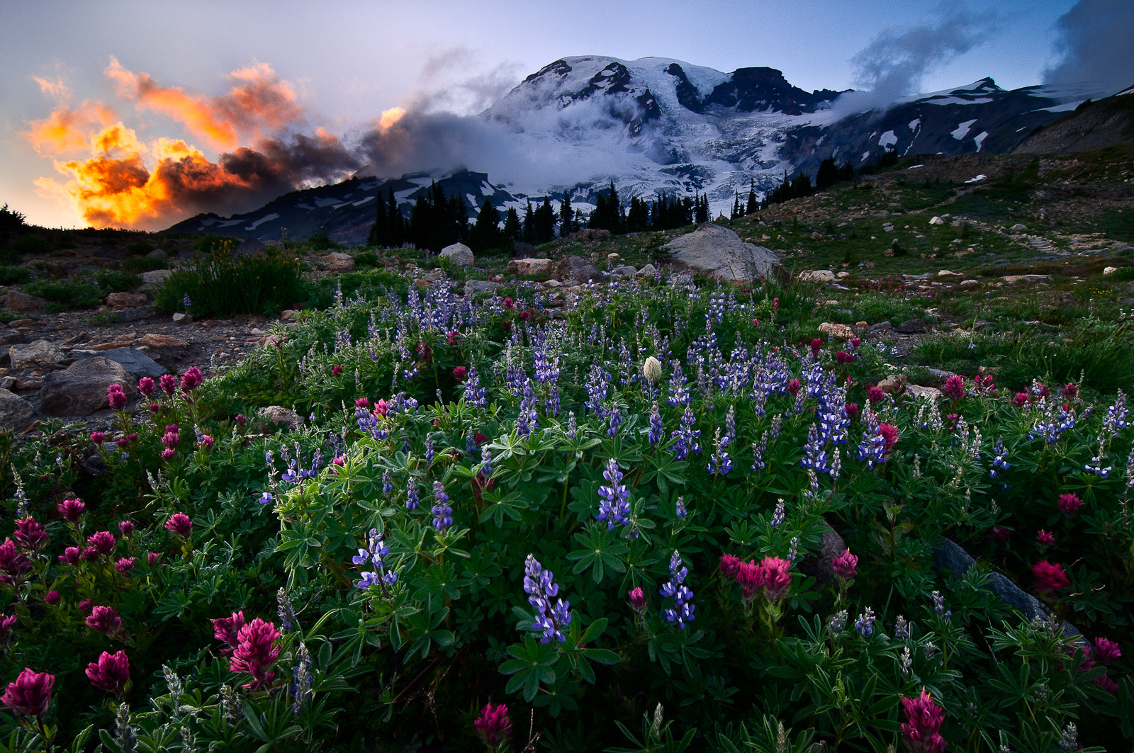 Photograph Mountain Explosion by Jay D. on 500px