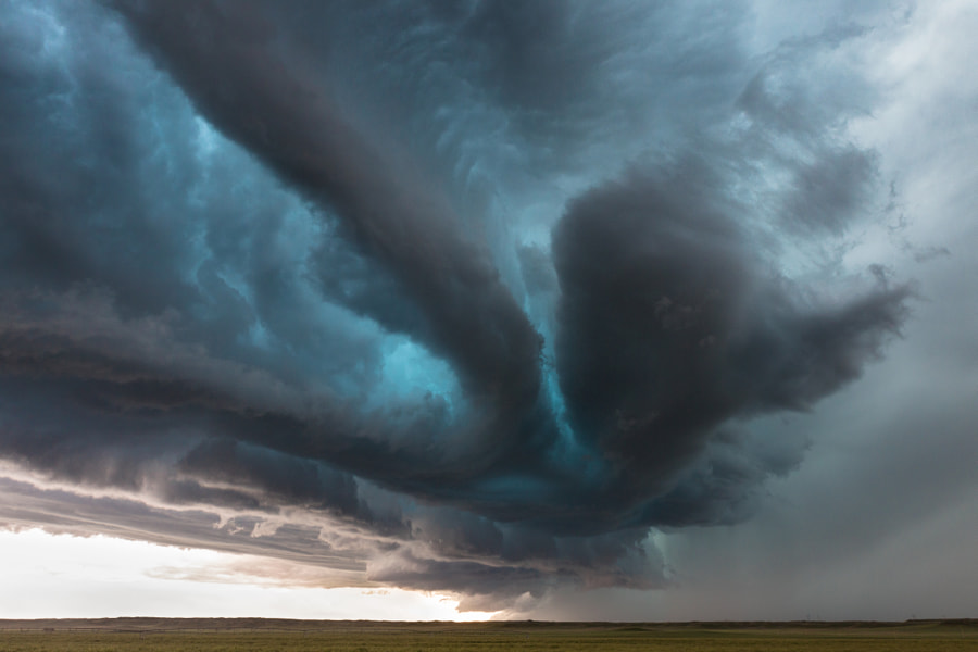 Photograph Nebraska Hail Core by Kelly DeLay on 500px
