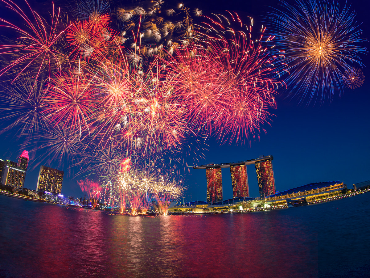Photograph Fireworks @ NDP 2012 - Singapore by Partha Roy on 500px