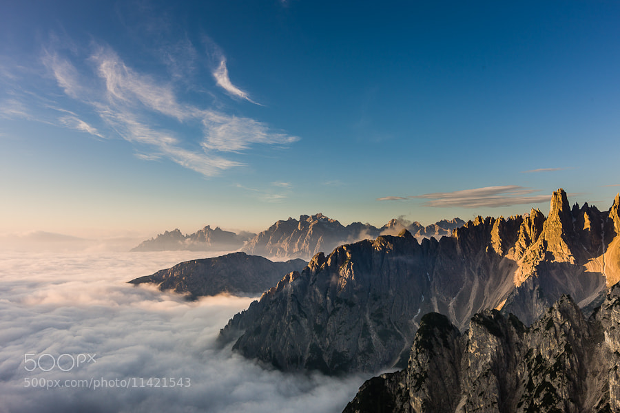 Photograph Top of the World by Hans Kruse on 500px