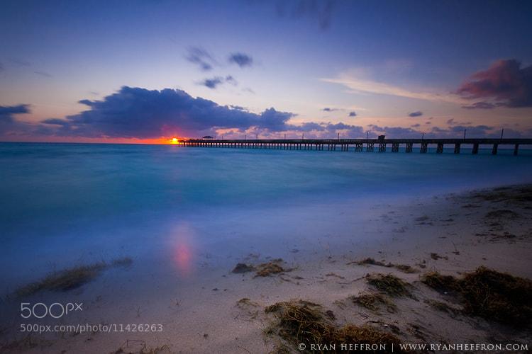 Photograph Miami Beach Sunrise by Ryan Heffron on 500px