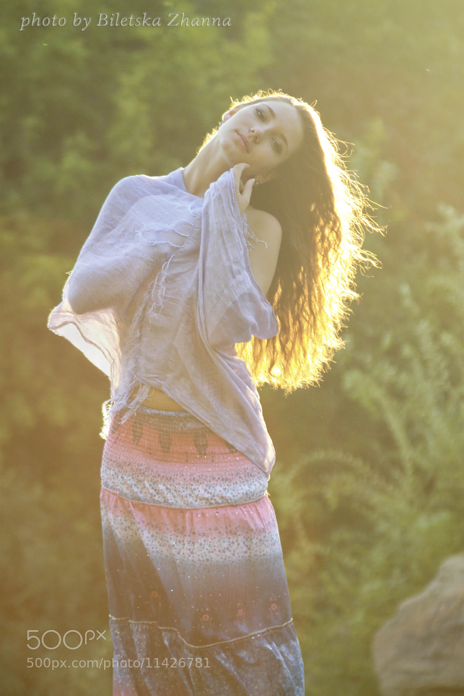 Photograph She's Like The Wind by Zhanna Biletska on 500px