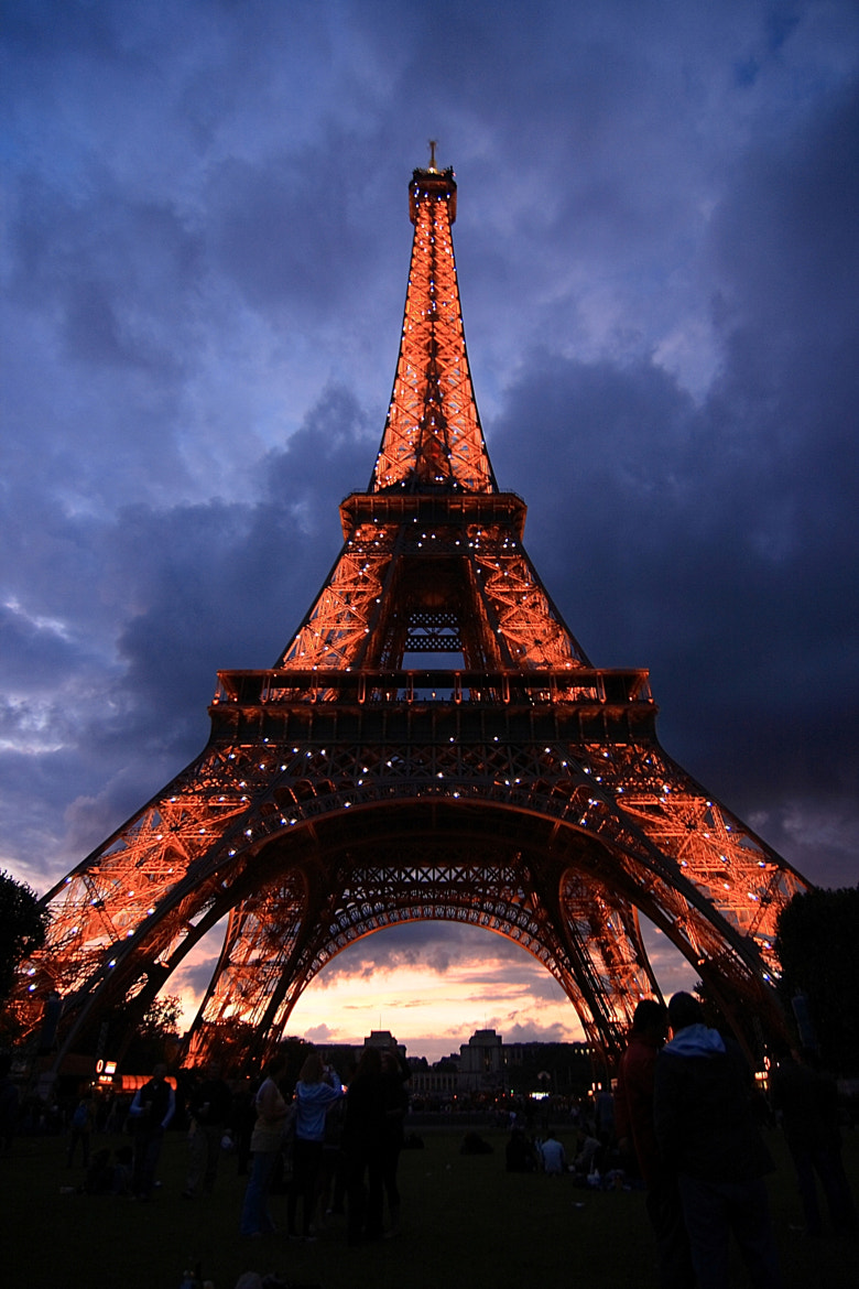 Photograph The Eiffel... by Air Butchie on 500px