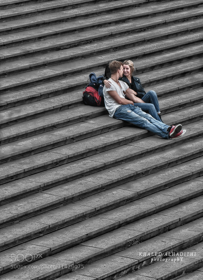 Photograph Love in street by khaled ALhudaithi on 500px
