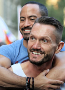 Couple, Gay Marriage Rally, Stonewall Inn 2015 by Brian Wilson on 500px