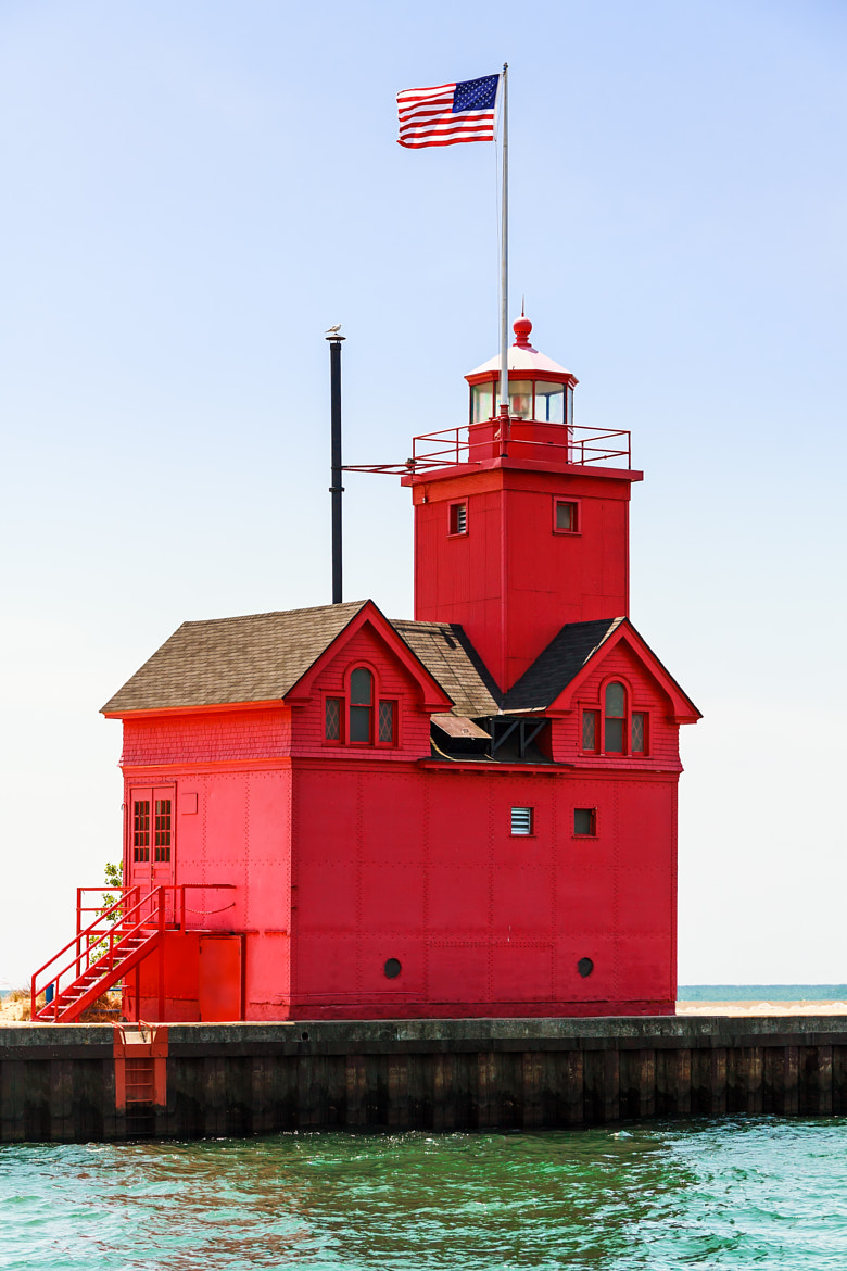 Photograph Holland Big Red Lighthouse by Kenneth Keifer on 500px