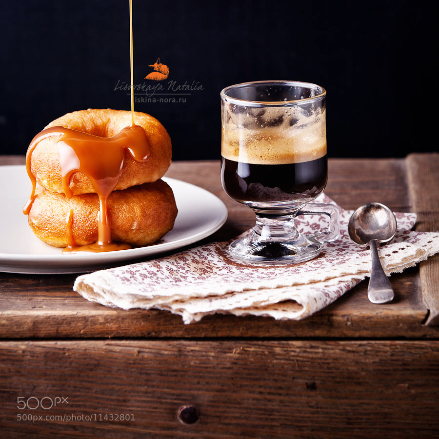 Photograph кофе с пончиками by Natalia Lisovskaya on 500px