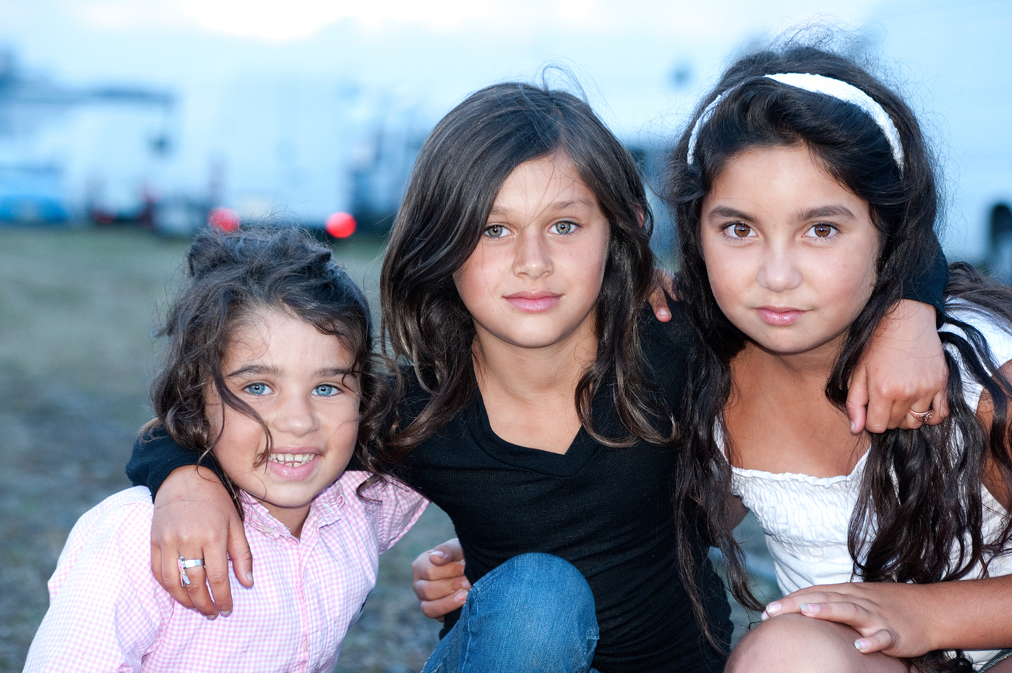 Photograph Young gipsy girls by Aline Nédélec on 500px