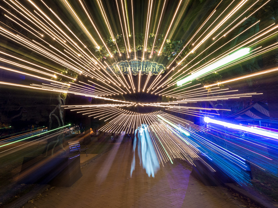 Photograph Winterlight Zoom Effect by Travis Chau on 500px