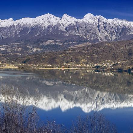 Lago di Santa Croce, Italy