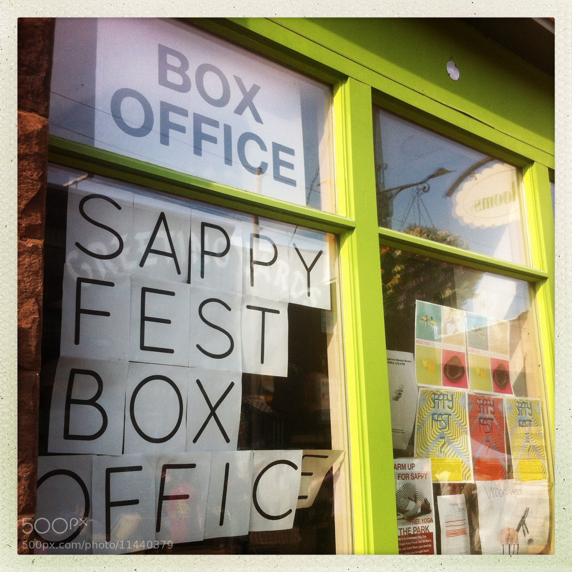 Photograph Sappyfest 7 Box Office by Chris Campbell on 500px