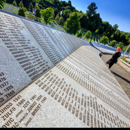 Never forget Srebrenica '95