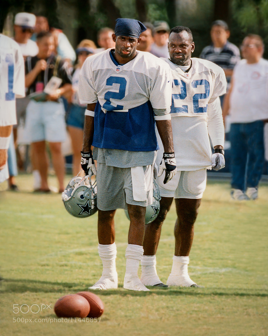 Photograph Deion Sanders & Emmitt Smith by Ellen Yeates on 500px