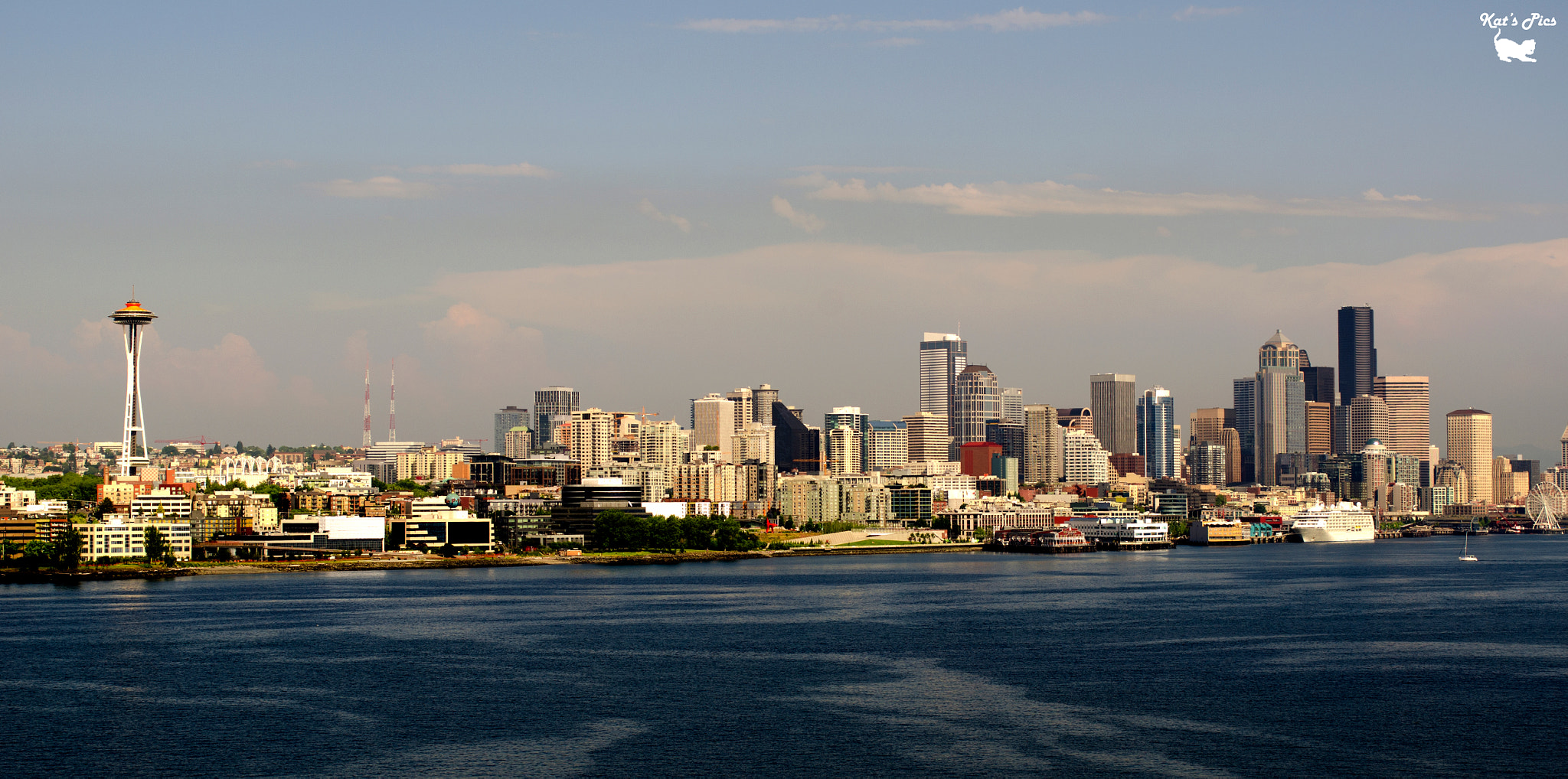 Photograph Another Seattle Skyline by Katheryn Navas on 500px