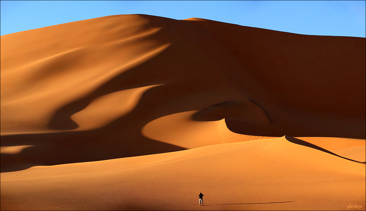 Photograph Man in the desert by Anna Gibiskys on 500px