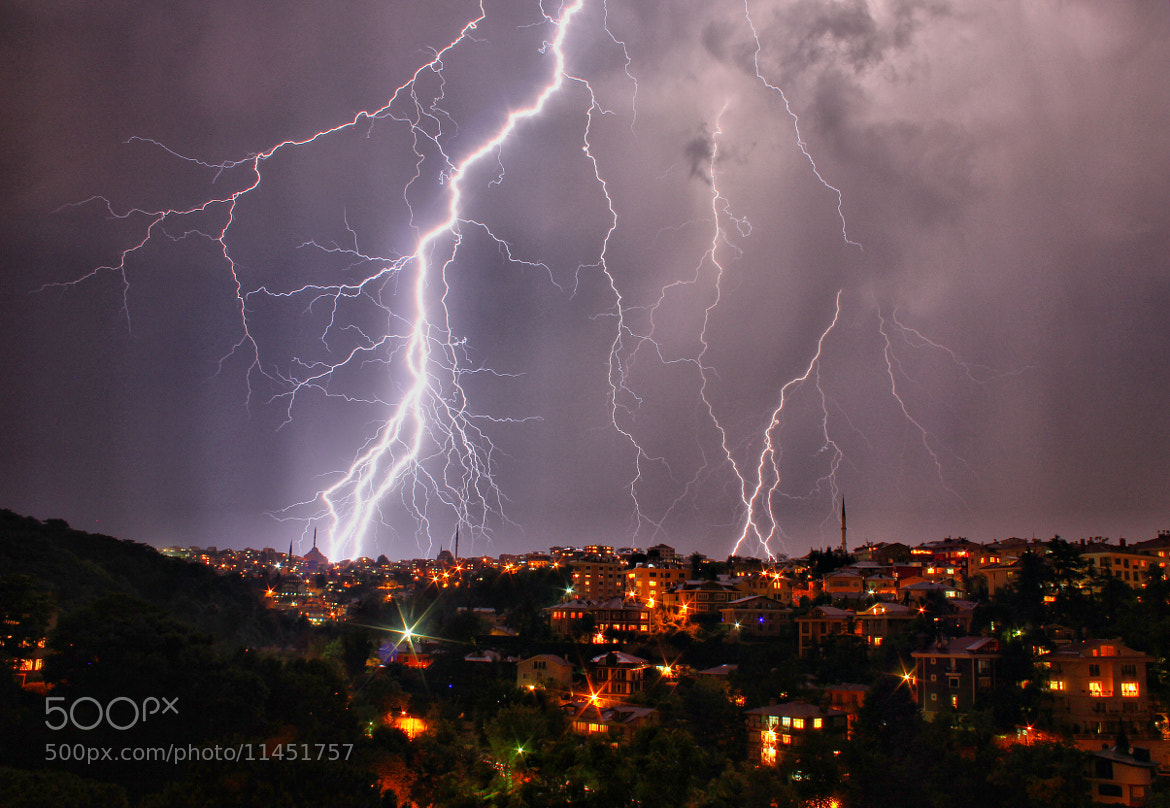 Photograph Lightning HDR by zen free on 500px