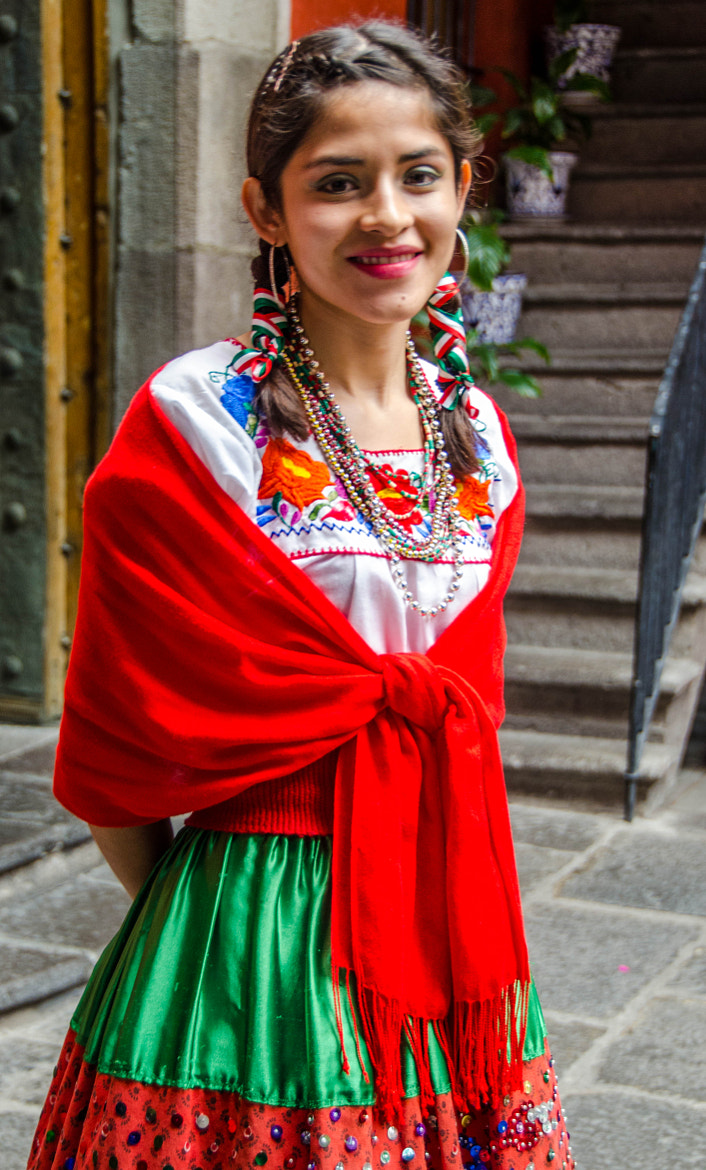 Photograph Girl in Puebla, Mexico by Joe Routon on 500px