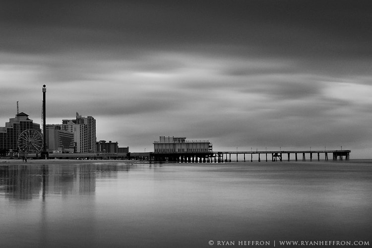 Photograph Daytona Boardwalk B&W by Ryan Heffron on 500px
