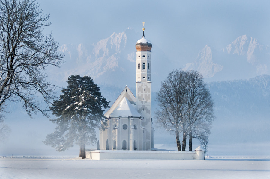 Photograph Bavarian Church by Gareth Griffiths on 500px