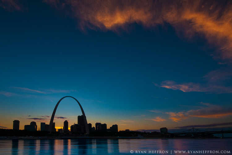 Photograph Sundown in St Louis by Ryan Heffron on 500px