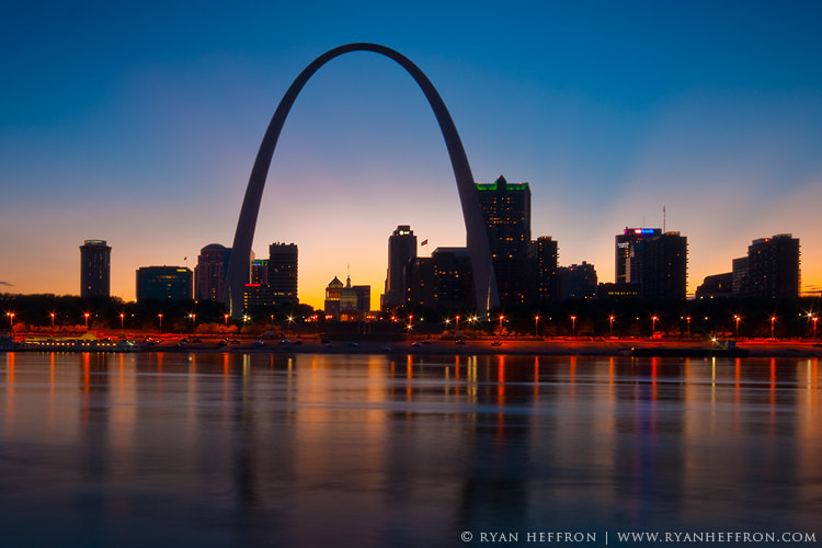 Photograph St Louis Skyline by Ryan Heffron on 500px