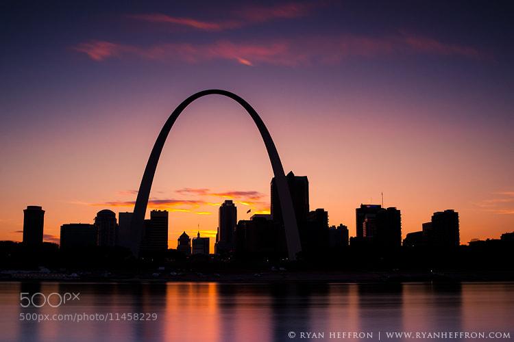 Photograph St Louis Skyline. by Ryan Heffron on 500px