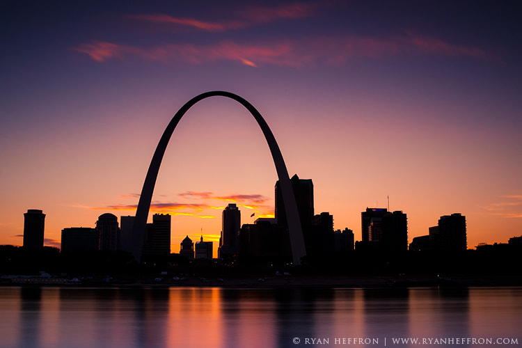 Photograph St Louis Skyline. by Ryan Heffron on 500px